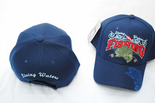 Fishing, Living Waters, Navy Blue Unisex Baseball Cap